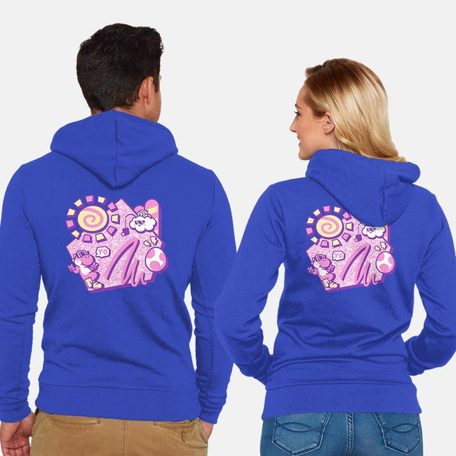 Summer Yo!-unisex zip-up sweatshirt-Minilla