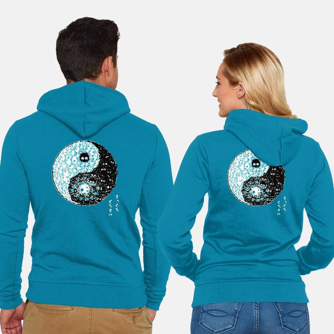 Dancing Forces-unisex zip-up sweatshirt-Harantula