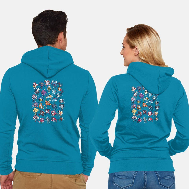 MTMTE-unisex zip-up sweatshirt-Mazzlebee
