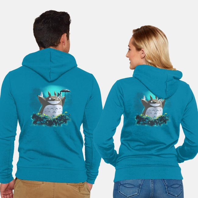 Will You Be Our Neighbor?-unisex zip-up sweatshirt-Logan Feliciano