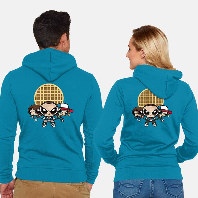 Power Strange Gang-unisex zip-up sweatshirt-DoodleDee