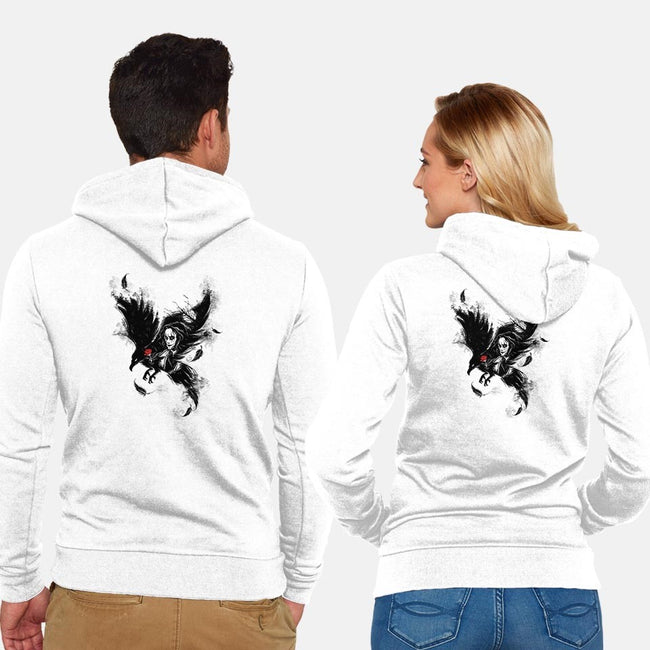 It Can't Rain-unisex zip-up sweatshirt-Daisyart-lab