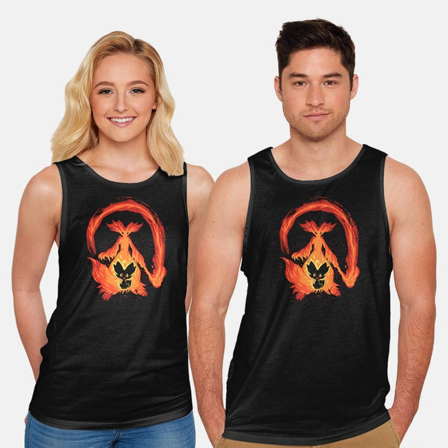 I Wanna Be a Fire Mage-unisex basic tank-TechraNova
