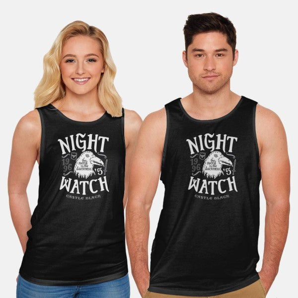 Watchers on the Wall-unisex basic tank-Olipop