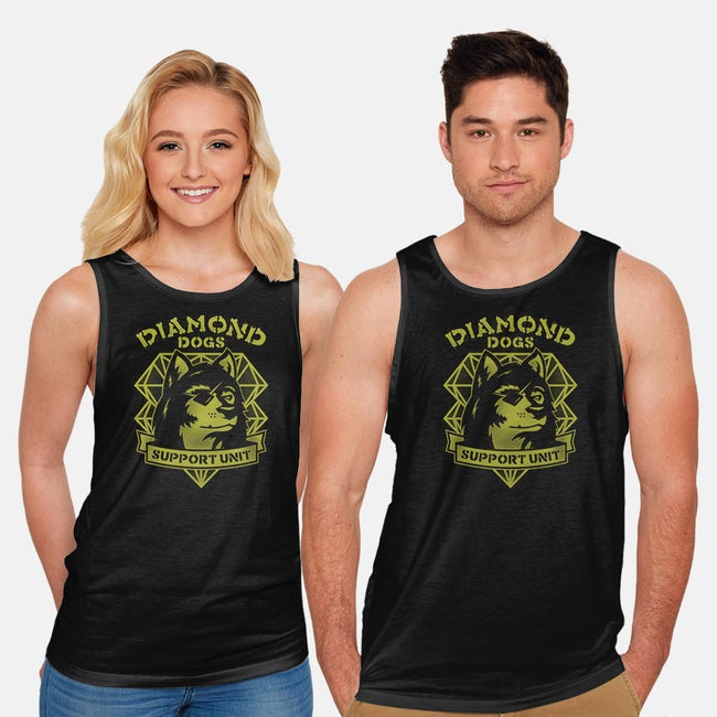 Rescue and Support-unisex basic tank-CoD Designs