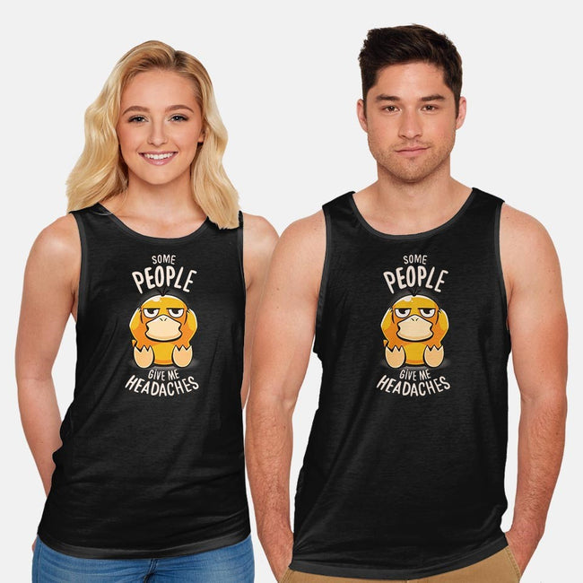 Psychic Problems-unisex basic tank-typhoonic