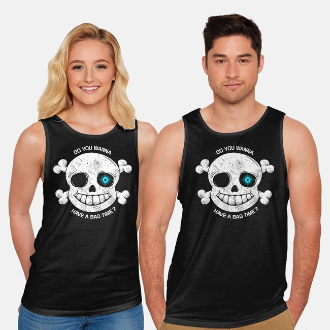Do You Wanna Have a Bad Time?-unisex basic tank-ducfrench