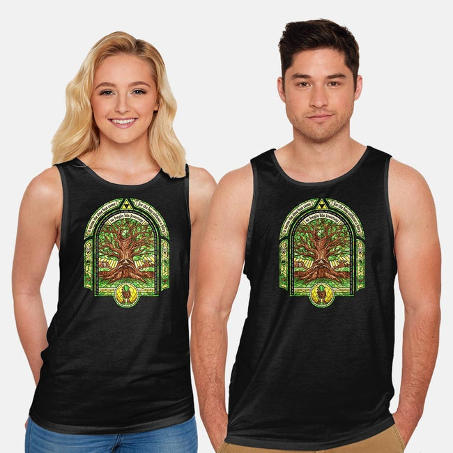 The Great Deku Tree-unisex basic tank-CoryFreeman