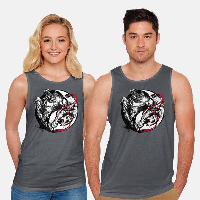 The Eternal Battle-unisex basic tank-Art_Of_One