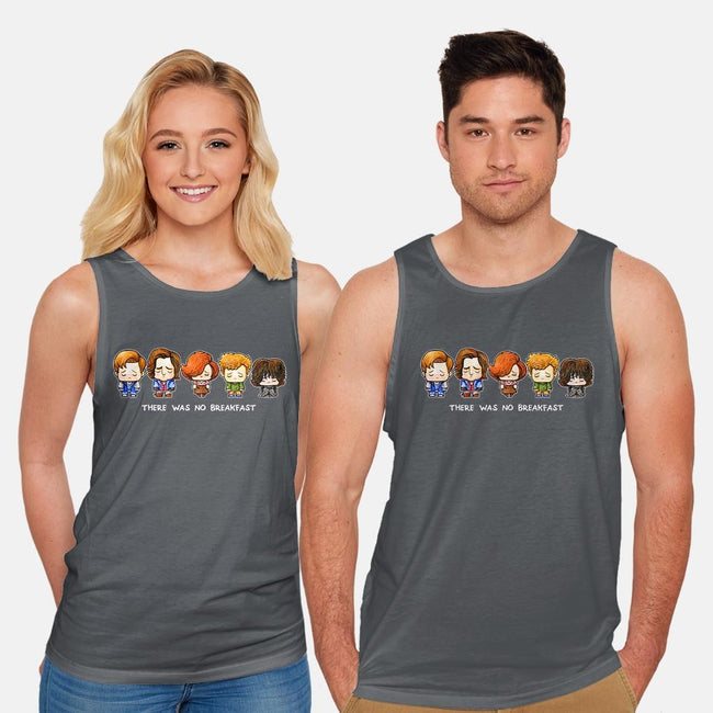 There Was No Breakfast-unisex basic tank-SuperEmoFriends