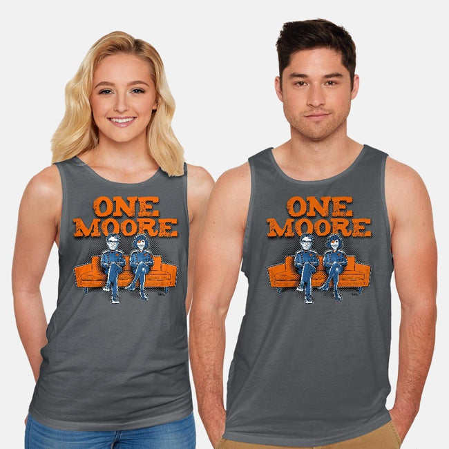 One Moore-unisex basic tank-Captain Ribman