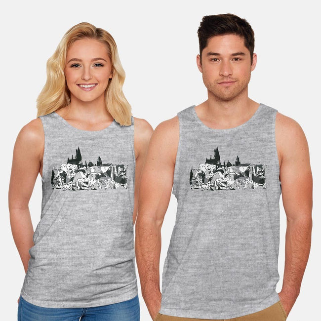 Magical Mural-unisex basic tank-2mzdesign