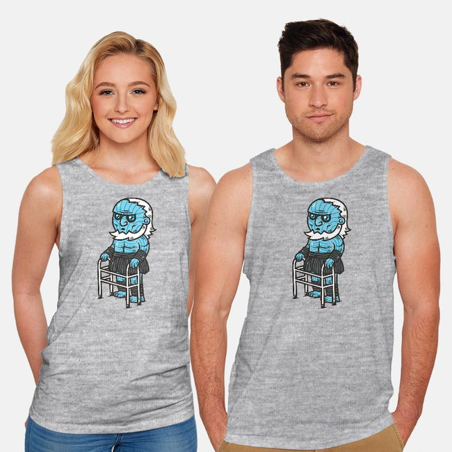 Old Age Is Coming-unisex basic tank-krisren28