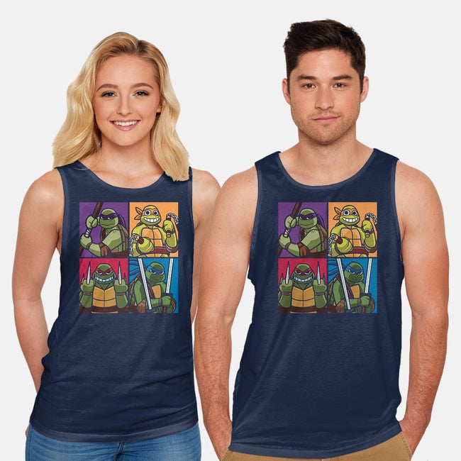 Choose Your Ninja-unisex basic tank-bigchrisgallery