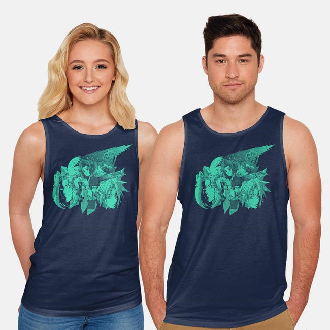Only One Gil 2-unisex basic tank-Coinbox Tees