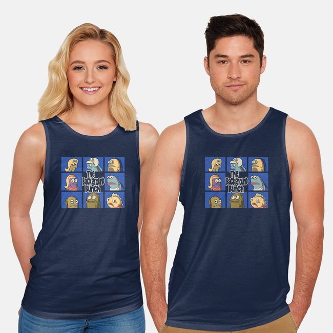 The Background Bunch-unisex basic tank-Betmac