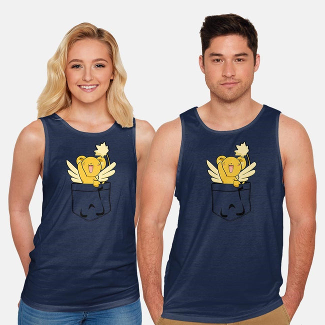 Kero In Your Pocket-unisex basic tank-AlexRoivas