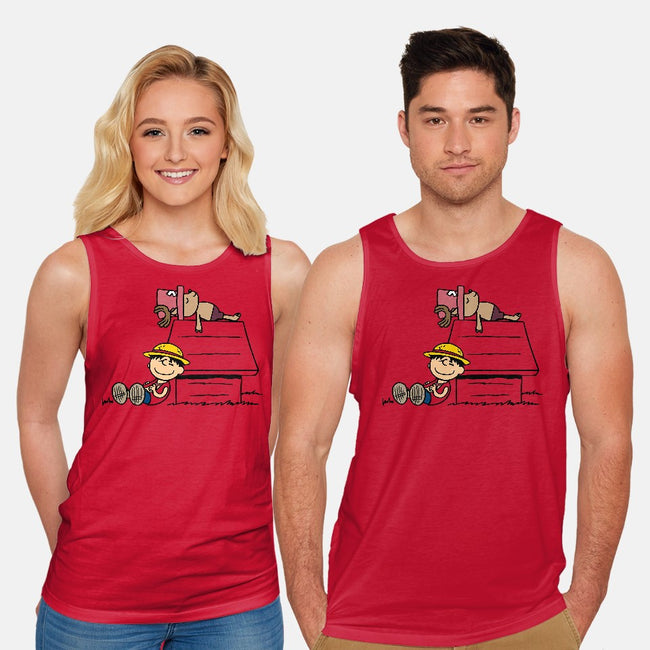 One Piece Nuts-unisex basic tank-Boggs Nicolas