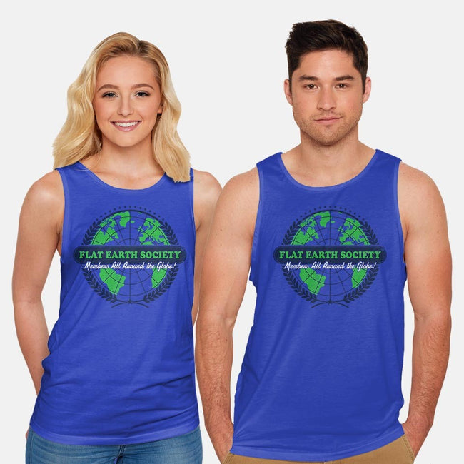 Around The Globe-unisex basic tank-Gamma-Ray