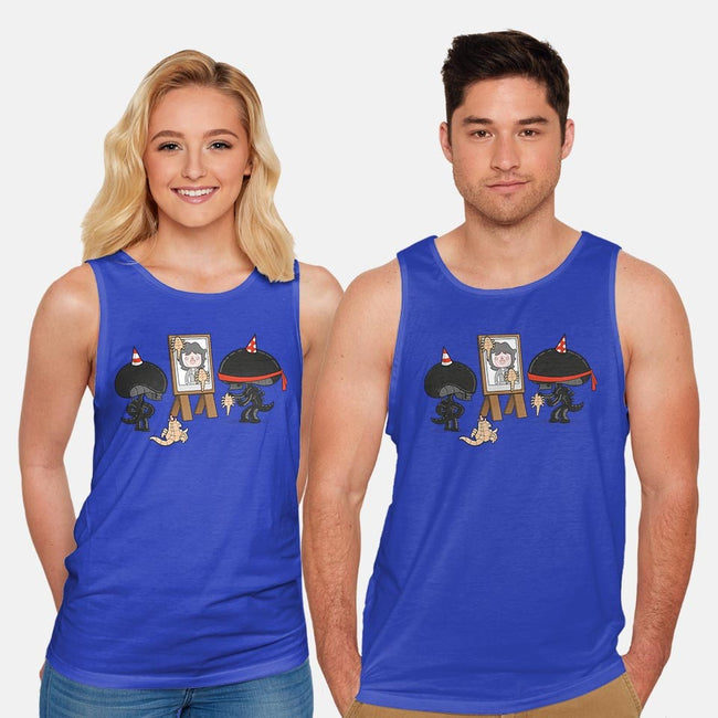Alien Party Games-unisex basic tank-queenmob