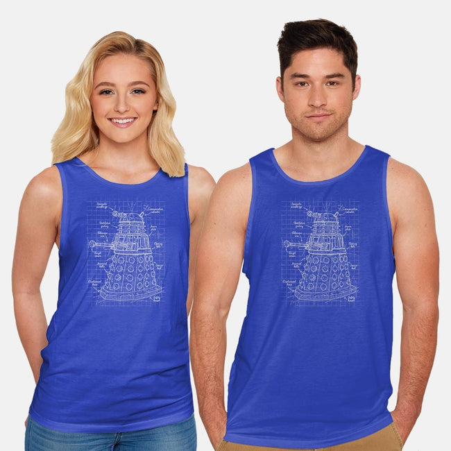 Extermination Project-unisex basic tank-ducfrench