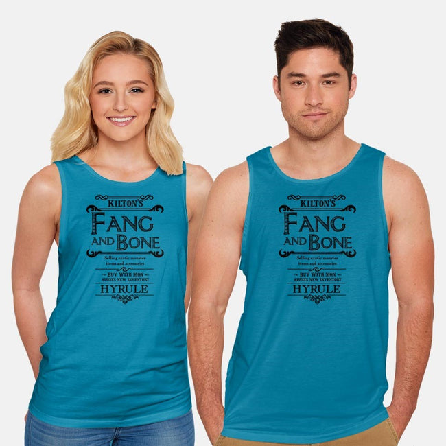 Kilton's Fang and Bone-unisex basic tank-mattographer