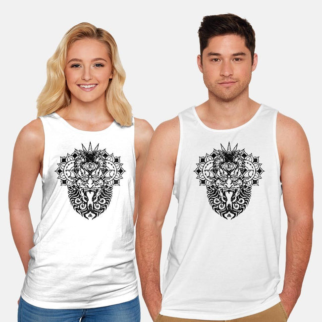 Demon-unisex basic tank-gaunty