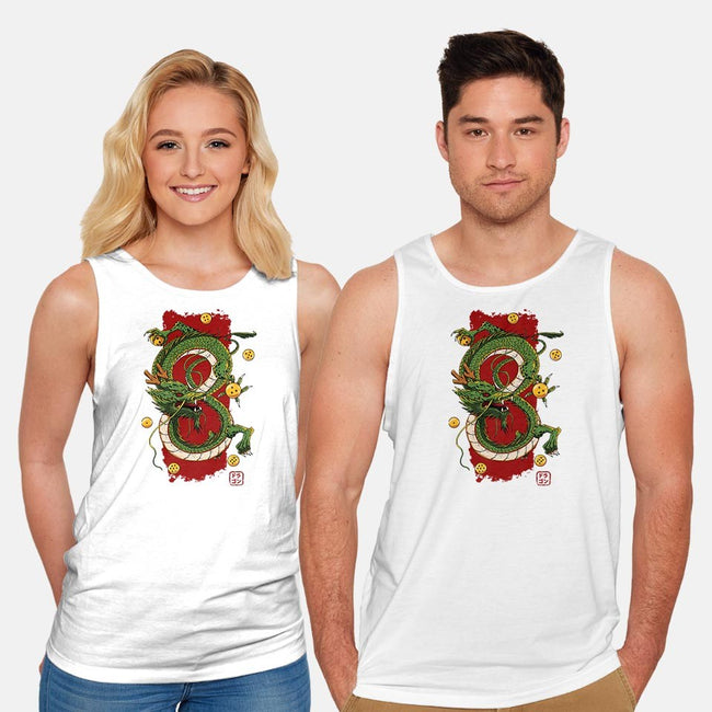 Eternal Dragon-unisex basic tank-ducfrench