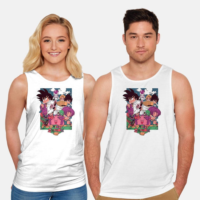 Pocket FighterZ-unisex basic tank-osmarescoto
