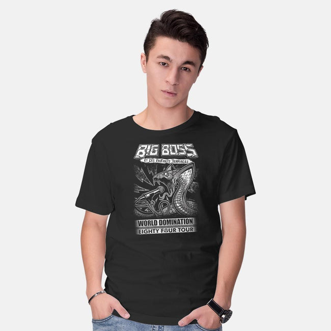 Big Boss et Les Enfants Terribles-mens basic tee-DCLawrence