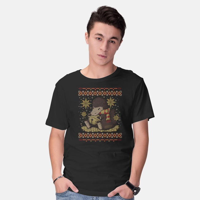 A Christmas Thief-mens basic tee-xMorfina