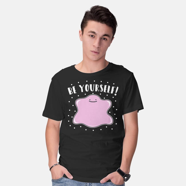 Be Yourself!-mens basic tee-Raffiti