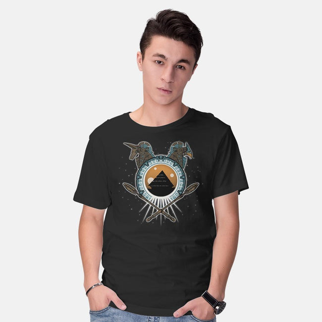 Portal to the Stars-mens basic tee-protec