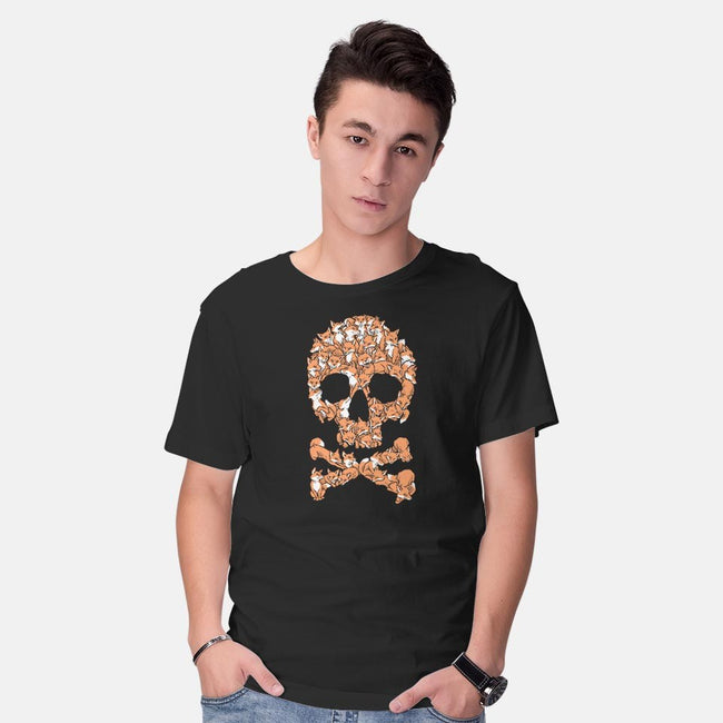 Go Fox Yourself-mens basic tee-harebrained