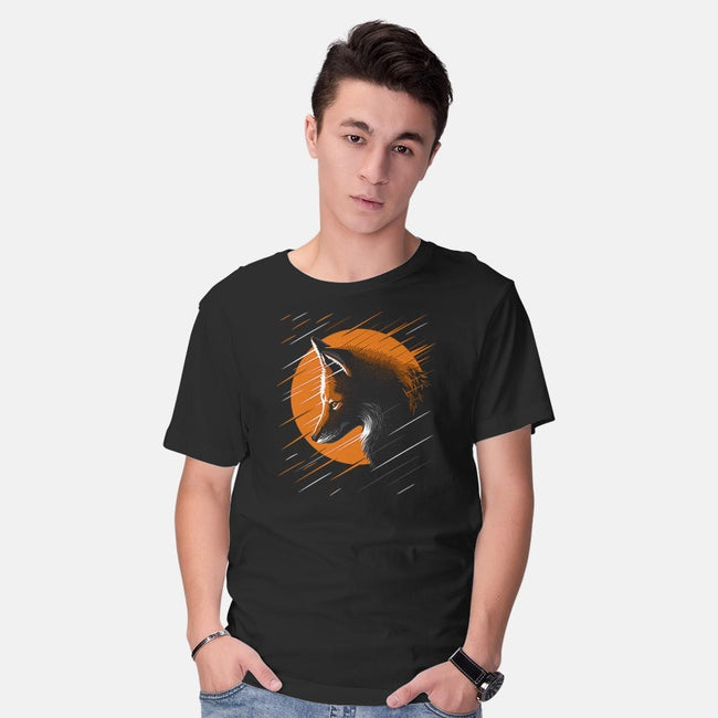 Rising Fox-mens basic tee-albertocubatas
