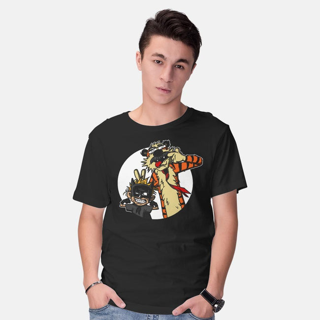 Crime Fighting Pals-mens basic tee-AndreusD