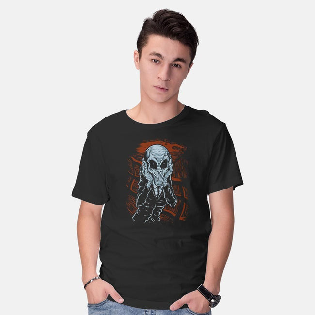 A Scream of Silence-mens basic tee-jkilpatrick