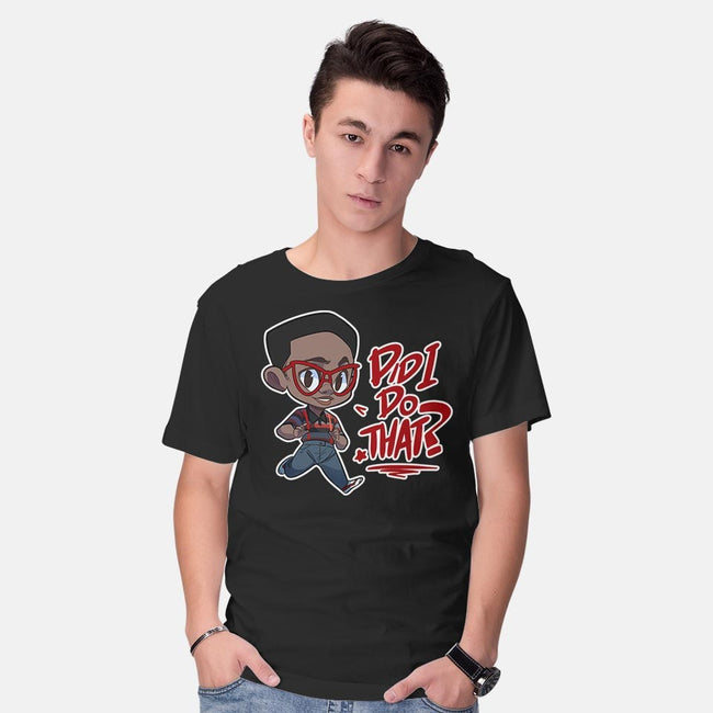 Did I Do That?-mens basic tee-digitoonie