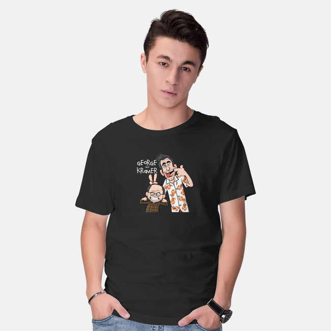 George and Kramer-mens basic tee-MarianoSan