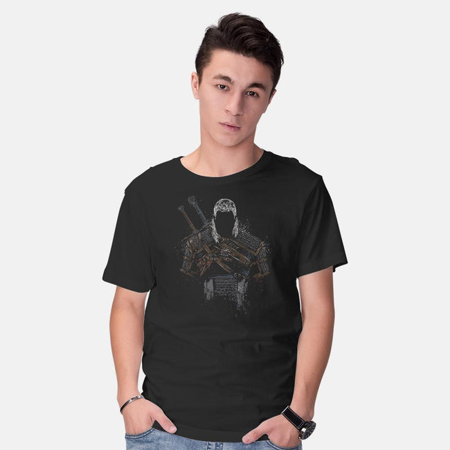 Wild Hunter-mens basic tee-DrMonekers