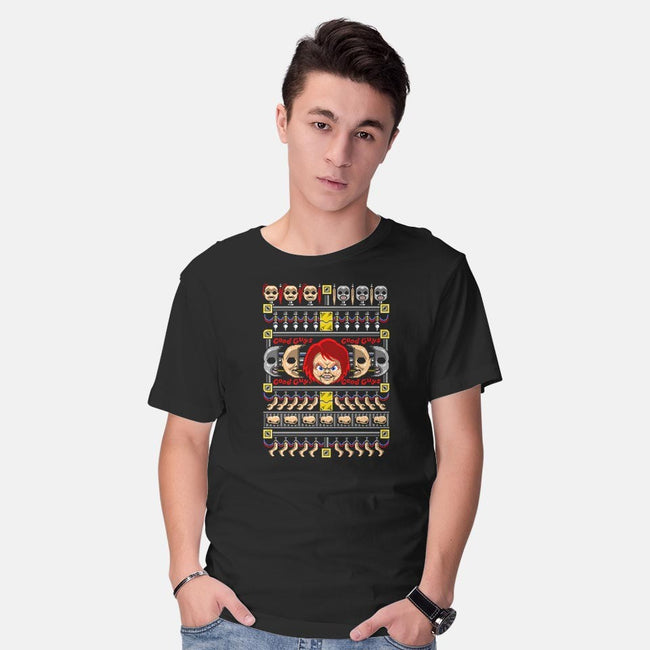 Good Guy, Ugly Sweater-mens basic tee-Punksthetic