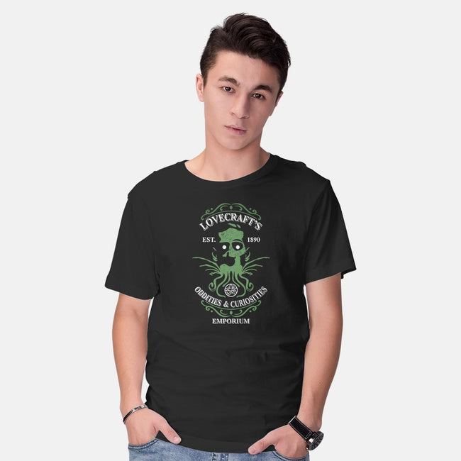 Lovecraft's Emporium-mens basic tee-jrberger