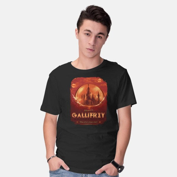 Gallifrey-mens basic tee-MeganLara