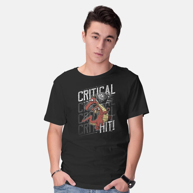 Super Critical Hit!-mens basic tee-StudioM6