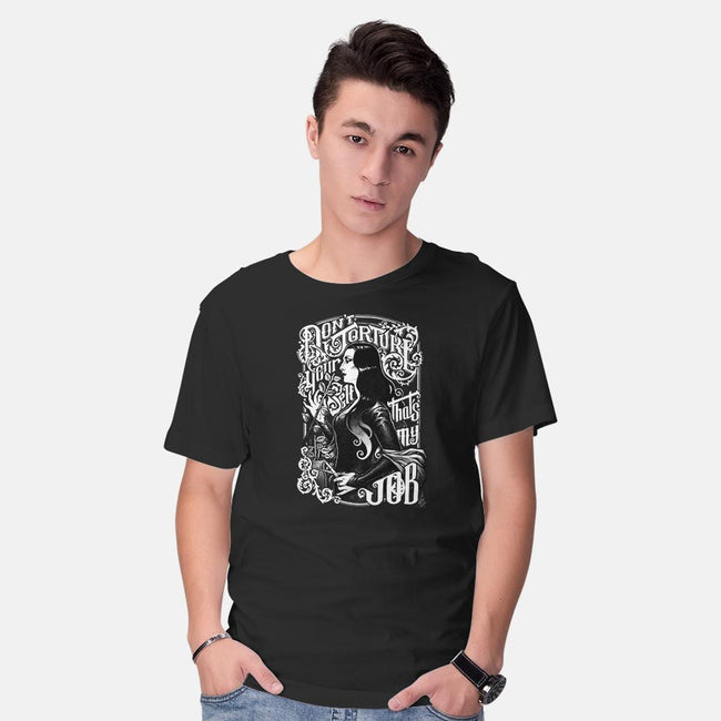Don't Torture Yourself-mens basic tee-MedusaD