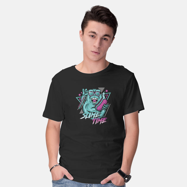 Slime Time-mens basic tee-jrberger