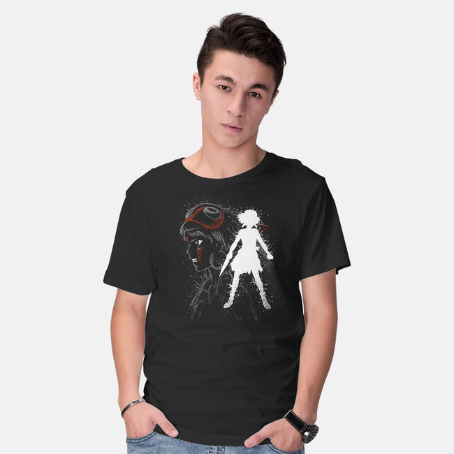 Inking Princess-mens basic tee-albertocubatas