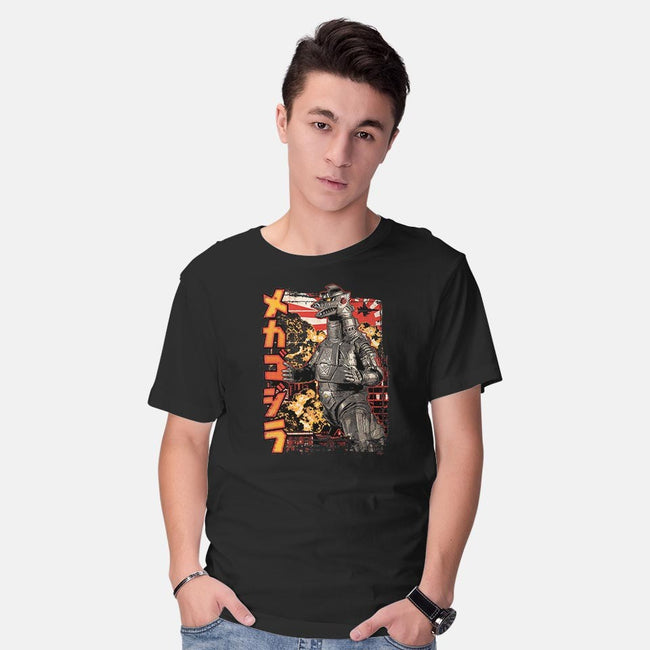 Giant Robot Pop-mens basic tee-cs3ink