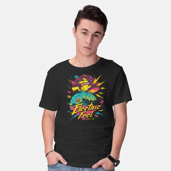 Electric Feel-mens basic tee-grateful8