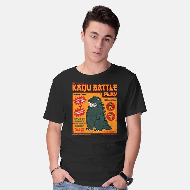Kaiju Costume-mens basic tee-pigboom